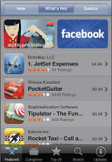 browsing app store