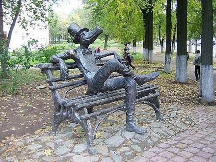 Крокодил в Ижевске